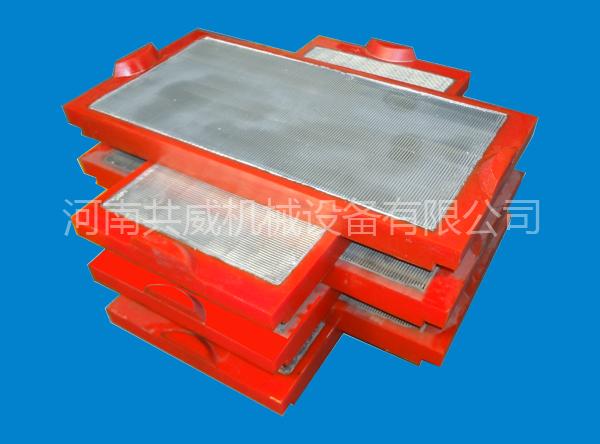 聚氨酯包边条缝筛板